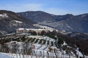 Collebeato - Frazione Campiani sotto la neve