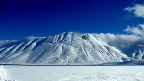 Norcia - Il Monte Vettore dal Pian Grande