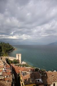 panorama di Sirmione dal Castello