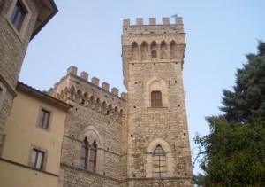 Il bianco castello di San Casciano