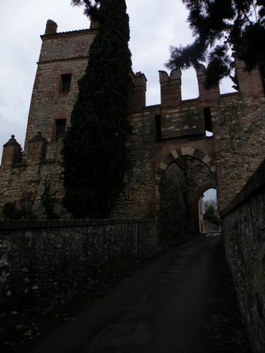 Castello di Serravalle - entrata al castello