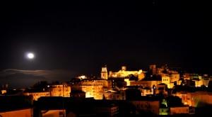 Enna, la luna e l'Etna; Trittico siciliano!