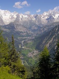 Pallusieux, veduta dalla Tete d'Arpy
