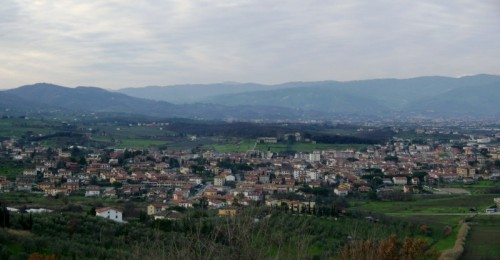 Quarrata - Panorama di Quarrata.