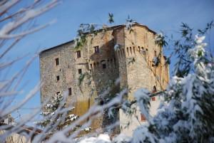 la Rocca e la neve