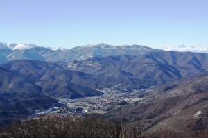 Bardineto: vista dal Monte Carmo