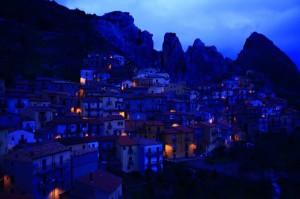 Castelmezzano in blu