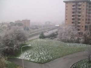 Finalmente neve a Campobasso!!!