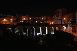 Ragusa vista dal ponte nuovo