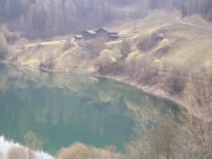 Maso sul lago dello Zoccolo