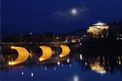 Torino - Panoramica dai Murazzi