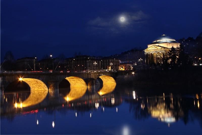''Panoramica dai Murazzi'' - Torino