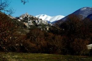 Panorama di Trevi nel Lazio