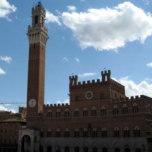 Siena la Torre e Palazzo Comunale