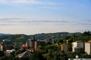 Un panorama di Cosenza