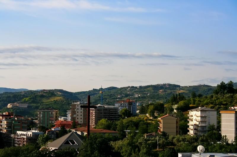 ''Un panorama di Cosenza'' - Cosenza