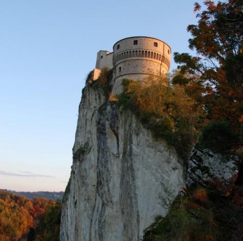 San Leo - Rocca..... Delicati raggi di luce di un tramonto
