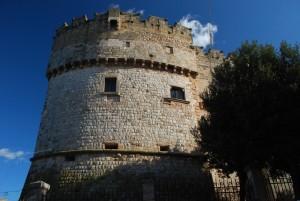 architettura militare italiana: il Castel Dentice di Frasso a Carovigno