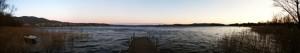 Tutto Il lago di Varese nel suo splendore.