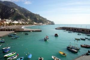 Una bella giornata d'inverno sulla Costiera Amalfitana