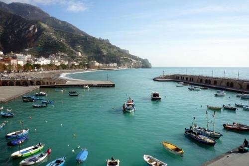 Maiori - Una bella giornata d'inverno sulla Costiera Amalfitana