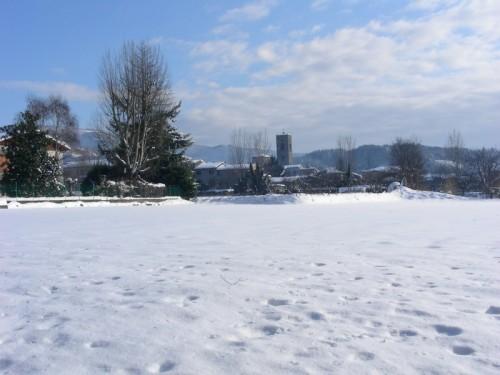 Pieve Fosciana - La Pieve sotto la neve