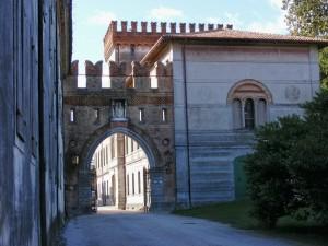 L'ingresso di Villa-Castello Luccheschi