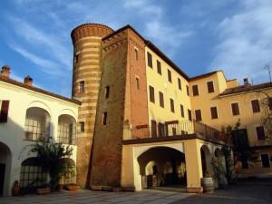 il castello di Lignano…. visto dal cortile interno