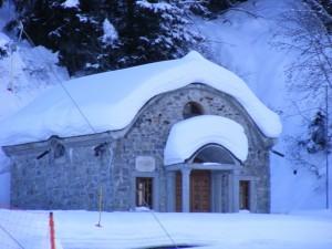 la chiesa sul corno d'aola
