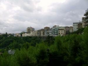 Panorama sulla Passeggiata Orientale.