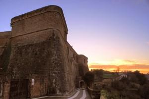 Tramonto sul Forte Sangallo