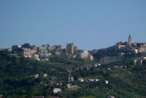Panorama di Chieti.