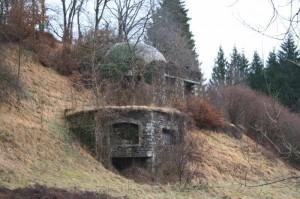 casematte della seconda guerra mondiale a Runchia