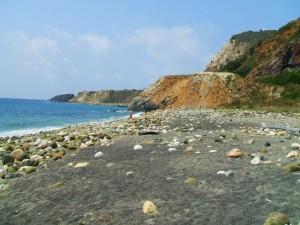 La spiaggia nera del Cannello
