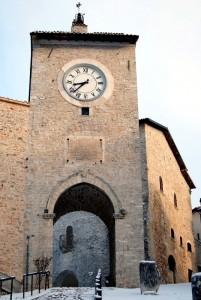 Torre di ingresso al castello