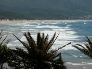 la bellissima e lunghissima spiaggia di Portixeddu