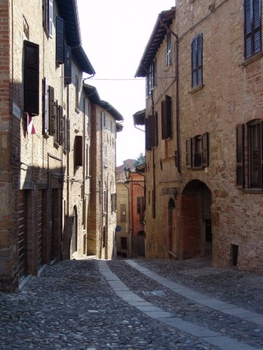 Castell'Arquato - Ciottoli e mattoni