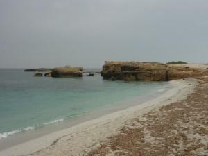 La famosissima spiaggia di Is Aruttas