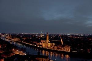 Da Castel San Pietro con vista sull'Adige