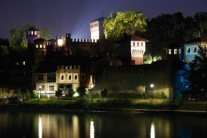Borgo Medievale By Nyght