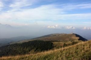 Sulle montagne di Nevegal