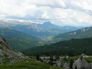 San Cassiano e la Val Badia