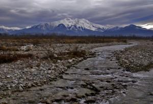 La Bisalta ed il torrente Gesso