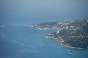 Bordighera e il suo mare blù