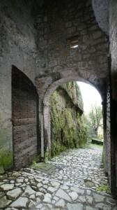 uscendo da Porta Romana