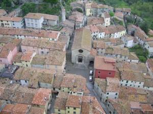 Veduta di Roccalbegna dalla torre