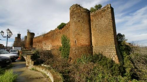 Barbarano Romano - le mura di tufo