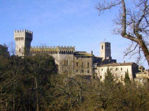Casciano dei Bagni - Il castello di San Casciano dei Bagni