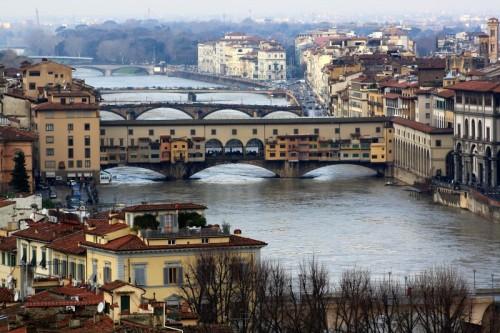 Firenze - Ne son passate di acque sotto il ponte...