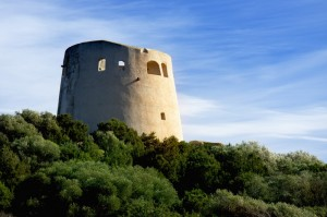 La torre di Cala Pira